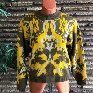 Vintage European Knit Unisex Sweater
